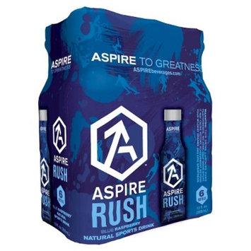 Aspire Rush Blue Raspberry Energy Drink - 6pk/12 fl oz Bottles