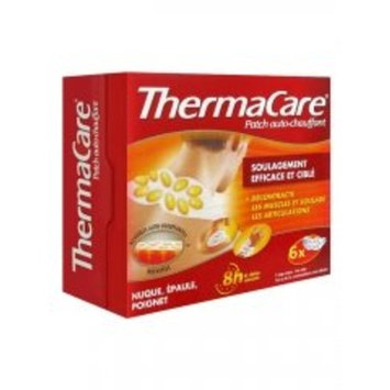 ThermaCare Warming Patch 8hrs Neck Shoulder Wrist 6 Patches