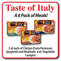 Chef 5 Minute Meals Taste of Italy Self-Heating Meals