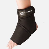ActiveWrap Hot and Cold for Ankle Black Large/XLarge Shoe Size 10.5-18