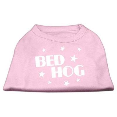 Mirage Pet Products 5104 XXLLPK Bed Hog Screen Printed Shirt Light Pink XXL 18