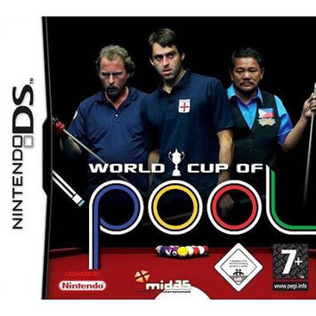 World Cup of Pool Nintendo DS Game AKSYS GAMES