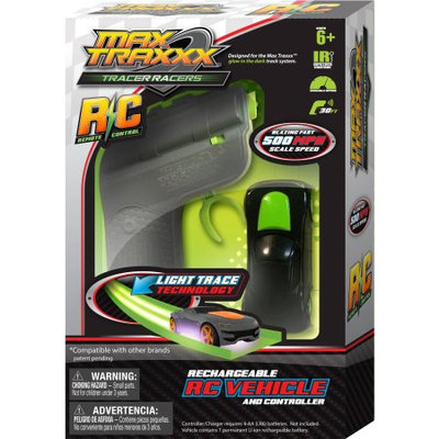 Max Traxxx / Tracer Racers R/C High Speed Remote Control Race Car - Colors Vary