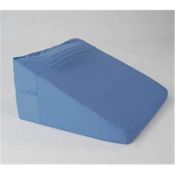 Living Health Products AZ-74-5118-BL Convoluted Bed Wedge with Neck Roll Blue