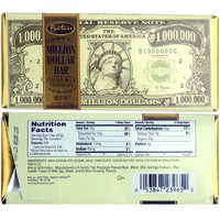 Bartons - Bazzini Million Dollar Milk Chocolate Bars - 2 Oz - 12 Bars Case