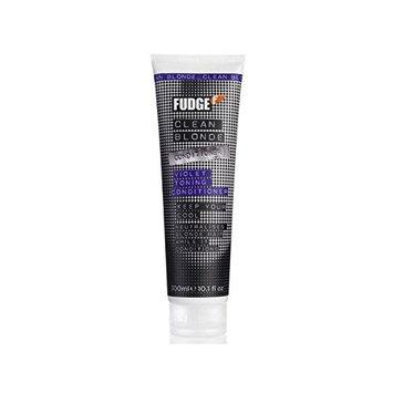 Fudge Clean Blonde Violet Conditioner (300ml) (Pack of 2)