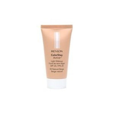 Revlon ColorStay Active Light Makeup with SoftFlex, All Skin Types, Natural Beige 220/05, 1 Ounce