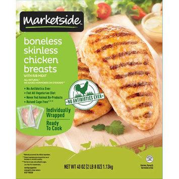Marketside Boneless Skinless Chicken Breasts, 2.5 lb