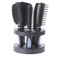 Ruier hui Professional Acylic Salon Scissors Holder Box Hairdressing Combs Clips Organizer Rack for Hair Stylist