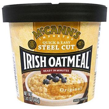 McCann's Instant Oatmeal Cup, Original Flavor, 1.9 OZ (Pack of 4)