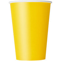 12oz Yellow Paper Cup