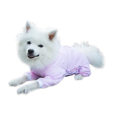 Cover Me by Tui XS Adj Fit Cover Me LS Pink Adjustable Fit Step-into with Long Sleeve for Pet Pink - Extra Small