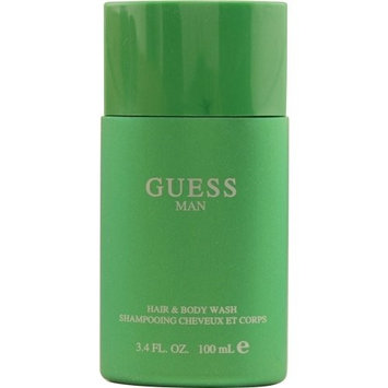 GUESS MAN by Guess HAIR AND BODY WASH 3.4 OZ for MEN ---(Package Of 5)