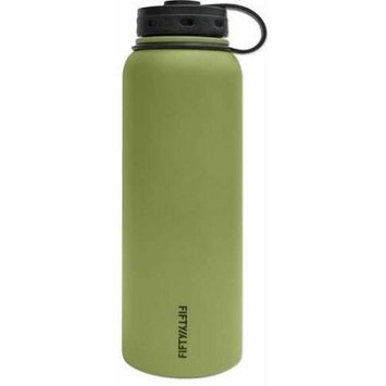 Fifty Fifty Fifty/Fifty Vacuum-Insulated Bottle - 32oz - Olive Green