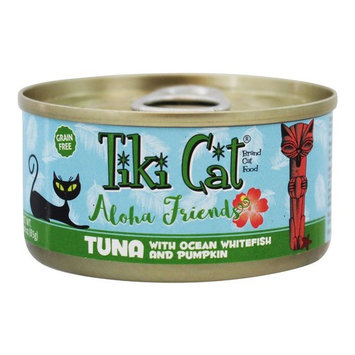 Aloha Friends Grain Free Canned Cat Food Tuna with Ocean Whitefish & Pumpkin - 3 oz.