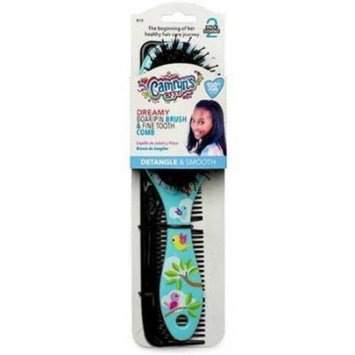Camryn's BFF Dreamy Boar/Pin Brush & Fine-Tooth Comb 2 pc Pack