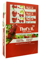 That's It Fruit Bar Apple plus Cherries - 12 Bars pack of 3