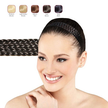 Buy 2 Hollywood Hair Multiple Braids headband and get 1 Free - Bold Black (Pack of 3)