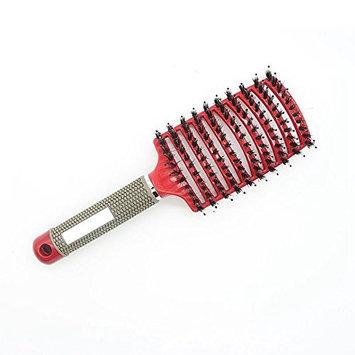 Hair Scalp Massage Comb Hairbrush Bristle&Nylon Women Wet Curly Detangle Hair Brush for Salon Hairdressing Styling Tools
