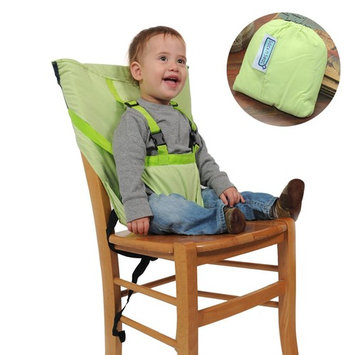 Wonpurs Baby Chair Belt Harness, Portable Travel Safety Belt Booster Feeding High Chair Seat Cover Sack Cushion Bag for Baby Kid Toddler