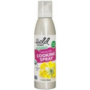 Field Day Organic Canola Oil Cooking Spray, 5 Fluid Ounce - 6 per case.