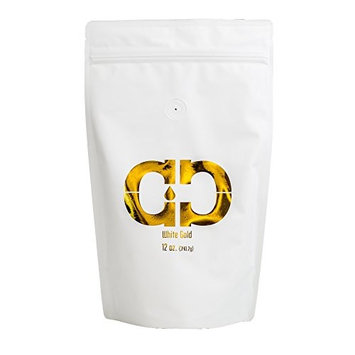 Caveman Coffee White Gold Roast, Columbia Single Origin, Certified Paleo, Chlorogenic Acid, Anti-Inflammatory, Fat Loss, Fair Trade, Whole Bean, 12 oz [White Gold Roast]