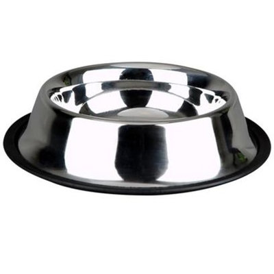 Advance Pet Products Non-Skid Stainless Steel Dish [Options : 64 oz]