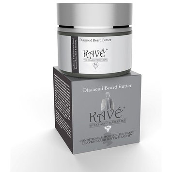 Kave Beard Balm, Natural Shea Butter and Argan Oil Beard and Mustache Conditioner, 2 oz