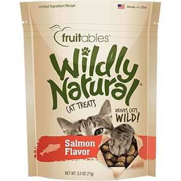 Fruitables® Wildly Natural Cat Treat - Natural, Limited Ingredient, Salmon size: 2.5 Oz
