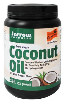 Jarrow Formulas - Extra Virgin Organic Coconut Oil - 32 oz(pack of 3)