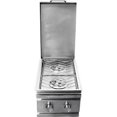 Rcs Gas Grills Stainless Steel Double Side Burner - LP