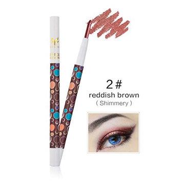 RNTOP 3 Colors Beauty Pro Highlighter Eyeshadow Pencil Cosmetic Glitter Eye Shadow Pen