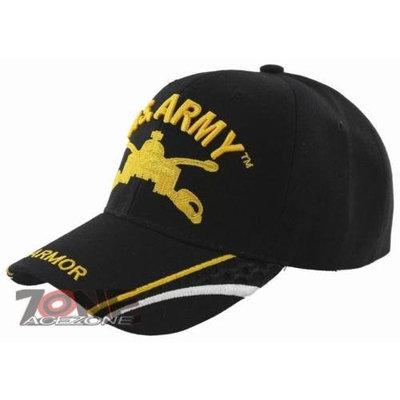 U.S. ARMY ARMOR MILITARY CAP [BLACK]