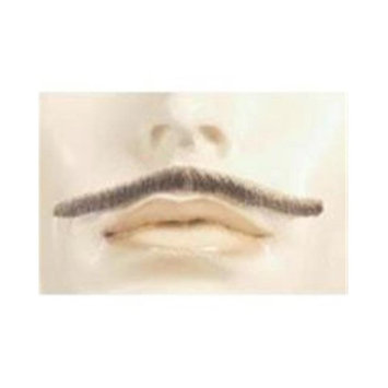 Morris Products Morris Costumes LW465MBNRD Blend Errol Flynn Human Hair Mustache, No. 30 Medium Brown with Red
