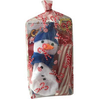 Cat Claws Inc. Imperial Cat Toy Gift Bag, Christmas Tree & Snowman