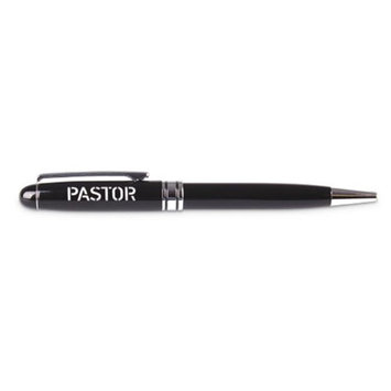 Lighthouse Christian Products 19660X Pen Steadfast Pastor - Black