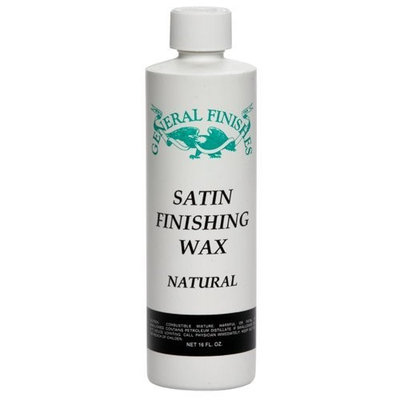 General Finishes Satin Finishing Wax, Natural