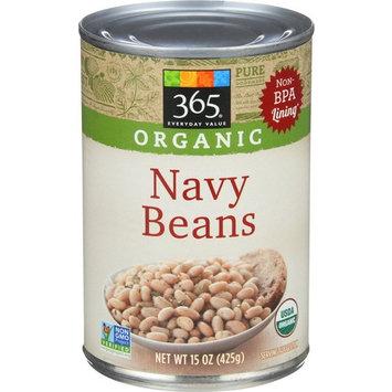 365 Everyday Value, Organic Navy Beans, 15 oz