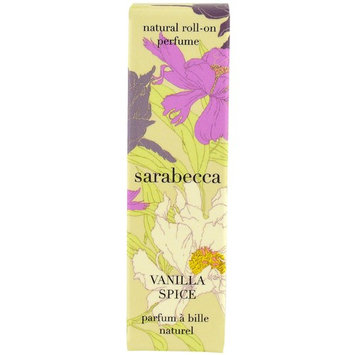 Sarabecca, Natural Roll-On Perfume, Vanilla Spice, .25 fl oz (7.5 ml) [Scent : Vanilla Spice]
