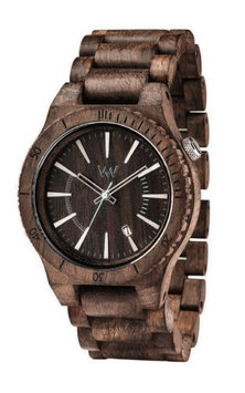 WeWood ASSUNT CHOCOLATE ROUGH 100% Natural Hypo-Allergenic Wood Watch