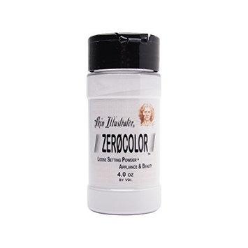 PPI Skin Illustrator Zero Color Loose Setting Powder, Color Less Translucent Face Powder for Setting Makeup, 3oz Shaker Top Bottle