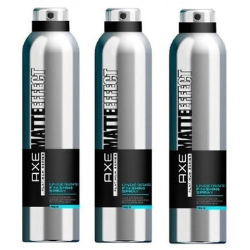 Lot of 3 Axe Matte Effect Platinum Series Understated Finishing Spray, 9 oz/ea