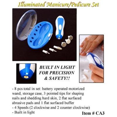 Cidron CA3 Illuminated Manicure & Pedicure Set