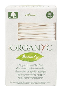Organyc - Organic Cotton Wool Swabs - 200 Pieces