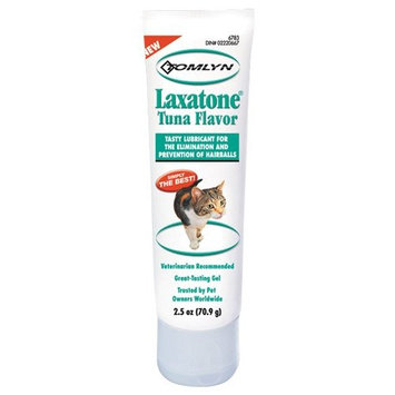 Laxatone in Tuna for Hairball Relief