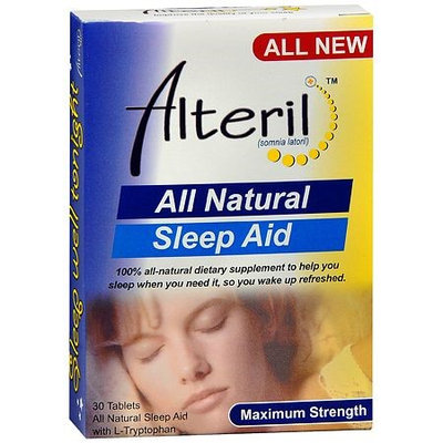 Biotab Nutraceuticals Alteril All Natural Sleep Aid 30.0 ea(pack of 3)