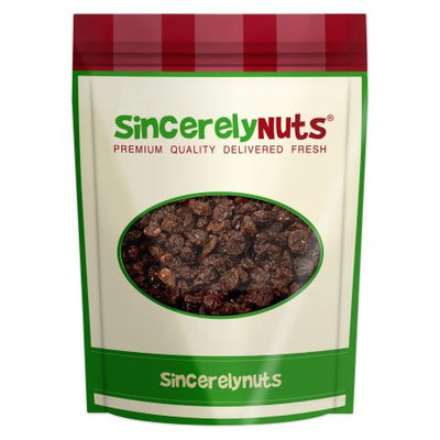 Sincerely Nuts Black Raisins, Organic, 3 lb
