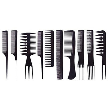 Y Bargain Professional Comb Set, Pack of 10