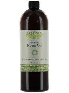 Banyan Botanicals - Organic Neem Oil - 36 oz.
