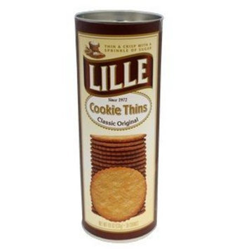 Lille Cookies Lille Cookie Thins Classic Original 4.6 OZ 38 Cookies (Chocolatey Crunch)